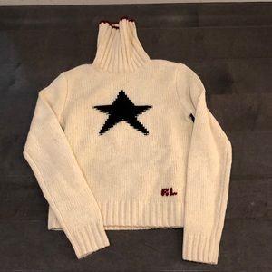 NWT Ralph Lauren sz S cream sweater